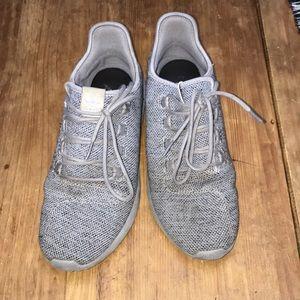 Adidas gray tubulars